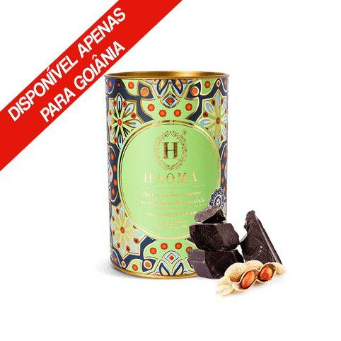Paçoca de Amendoim com Cobertura de Chocolate 240g