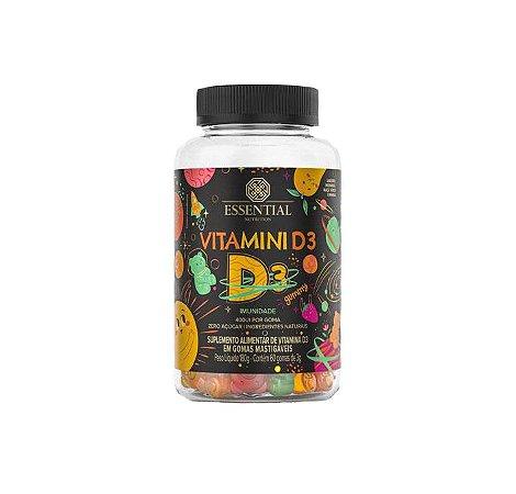 Vitamini D3 60 Gomas