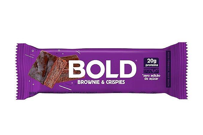 Barra de Proteína Bold Brownie & Crispies 60g