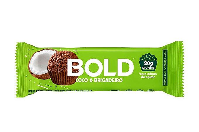 Barra de Proteína Bold Coco & Brigadeiro 60g