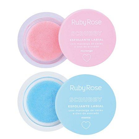 Esfoliante Labial Scrubby Ruby Rose HB-8525 2 Unidades