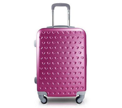 Mala de Bordo Love  - Pink Jacki Design
