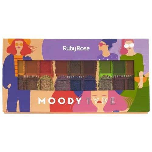 HB 1054 Paleta de Sombras Moody Type - Unidade