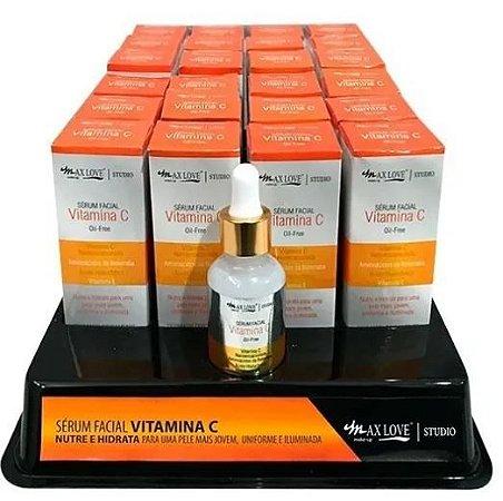 Serum Facial Vitamina C Max Love - Display com 24 Unidades