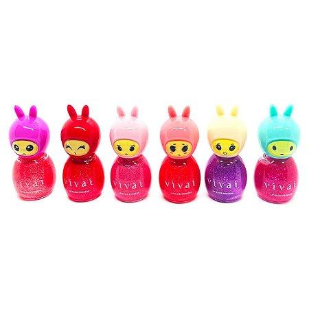 Lip Gloss Infantil My Little Princess - 6 Unidades Vivai