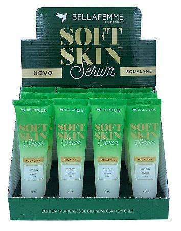 Serum Facial Squalane Soft Skin SS80007 Bella Femme - Display com 12 Unidades