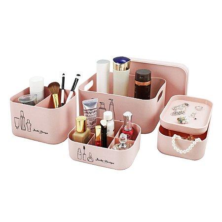 Kit Organizador Beauty 4 peças - Jacki Design