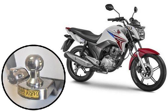 Engate Reboque Rabicho Honda Titan 150/160cc todos os modelos até 2019