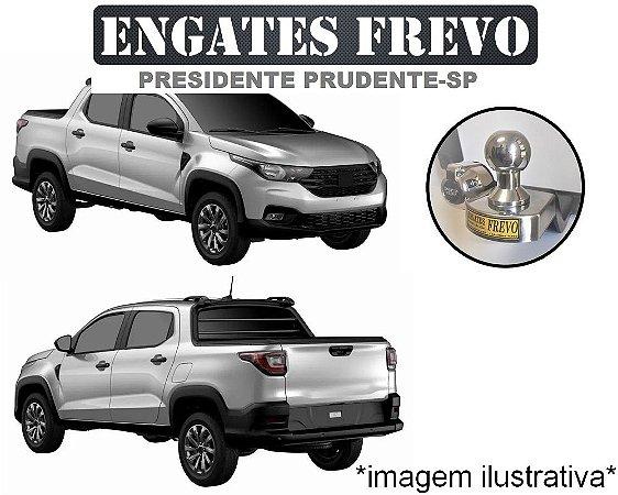 ENGATE RABICHO E REBOQUE FIAT STRADA 2020 ED (MODELO NOVO)
