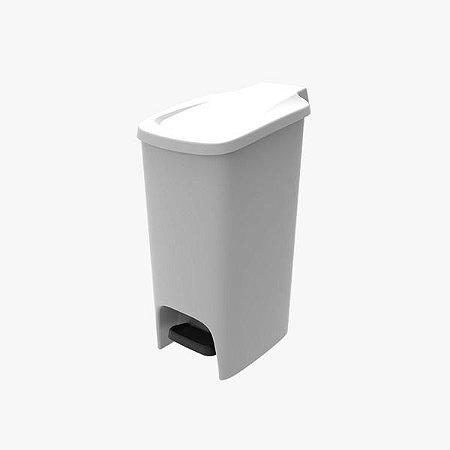 Lixeira Slim 16L- Branca