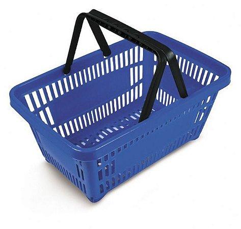 Cestas De Super Mercado  - Kit com 5 cestas de compras