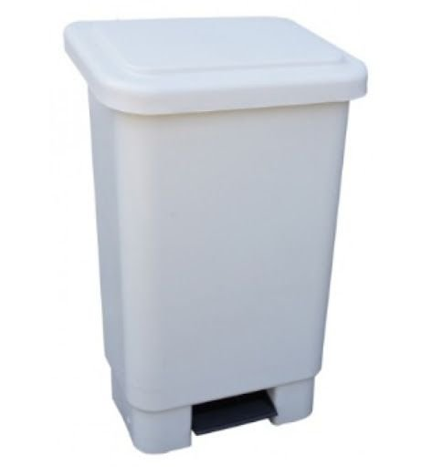 lixeira plastica retangular 50L