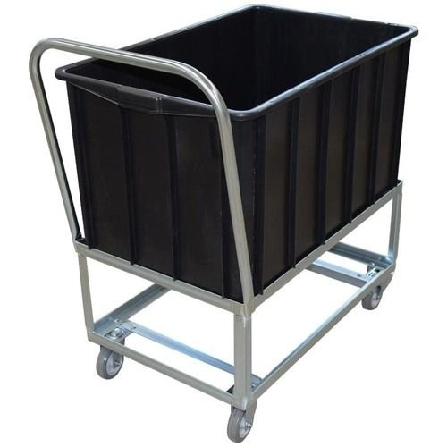 Carro Alto para Caixa Plástica - Mod.1018