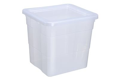 Caixa Organizadora Biopratika com Tampa 42L - Ref. 570