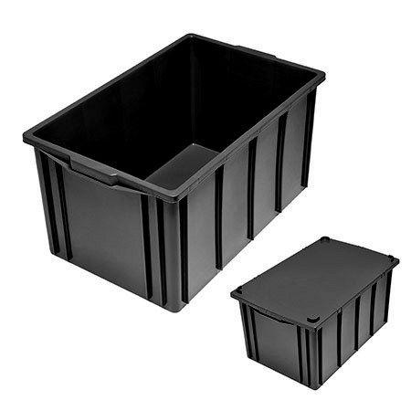Caixa Plástica Fechada 61L - Mod.1035