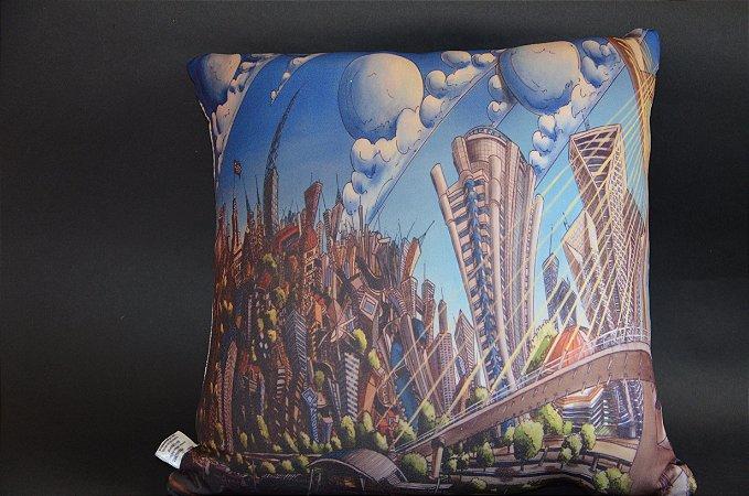 Almofada Skyline São Paulo 35x35