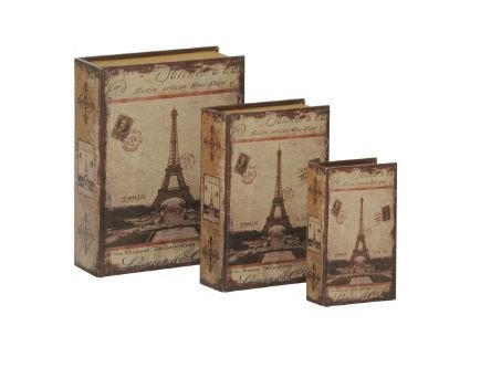 Porta-Objetos Book Box (conjunto)