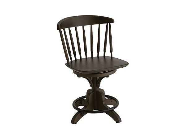 Cadeira Inglesa Giratória Estofada Bar