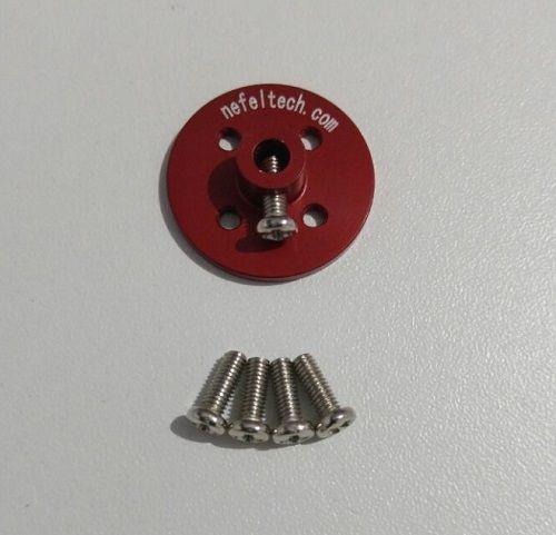 Hub NefelTech - Adaptador p/ roda nefeltech (vermelho)