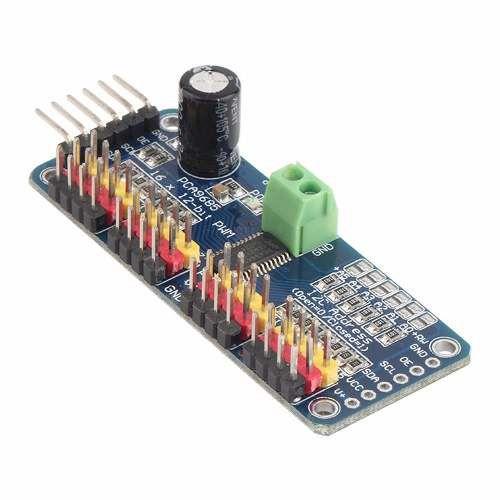 Módulo I2c Para Servo Motor - 16 canais