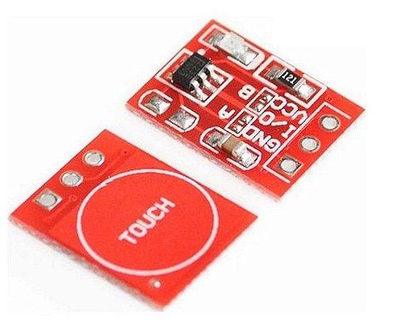 Sensor de Toque Capacitivo TTP223