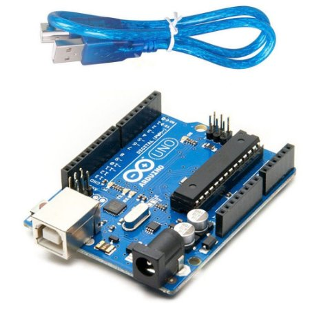 Arduino UNO R3 (Compatível) + cabo USB