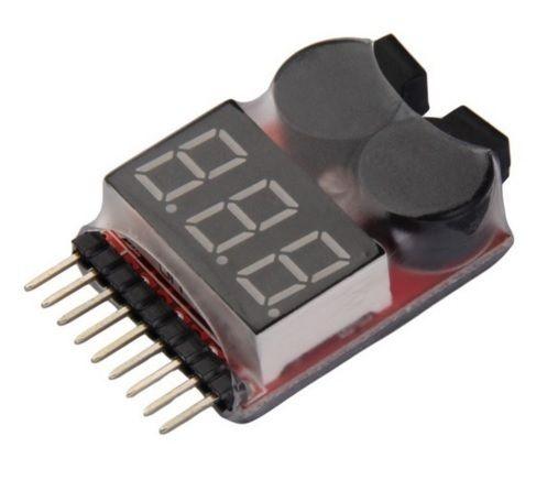 Monitor de Bateria LiPo com Alarme