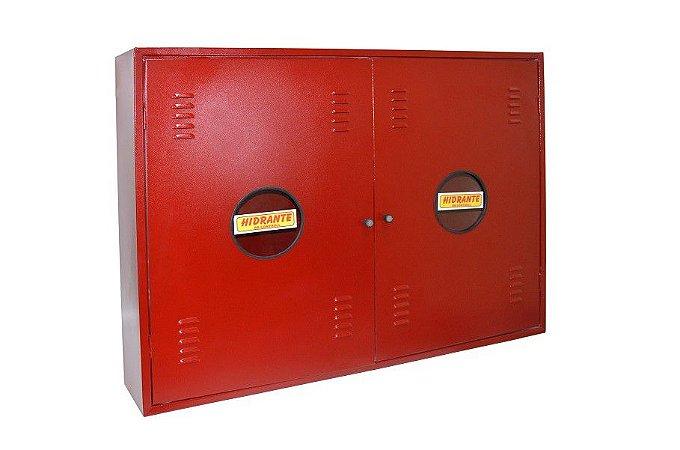 Caixa de Hidrante Sobrepor 120x90x17cm Horizontal com Visor