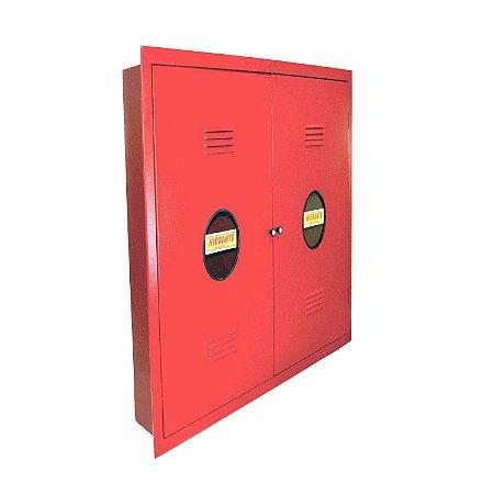 Caixa de Hidrante Embutir 120x90x24cm Horizontal com Visor