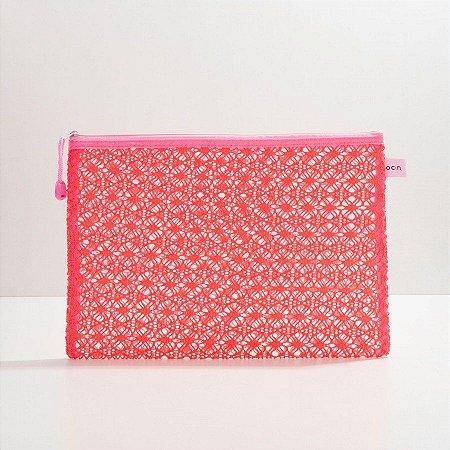 Oceane Nécessaire Rosa - Lace Bag G