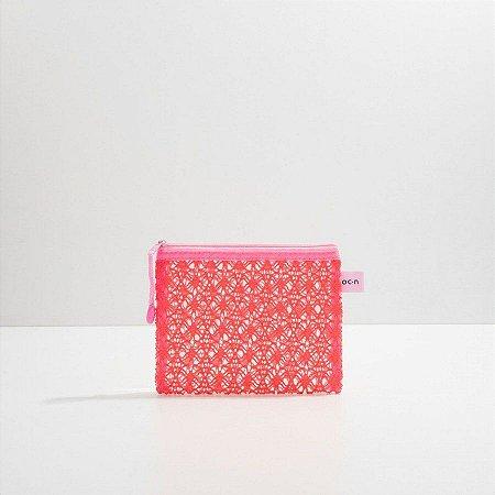 Oceane Nécessaire Rosa - Lace Bag M