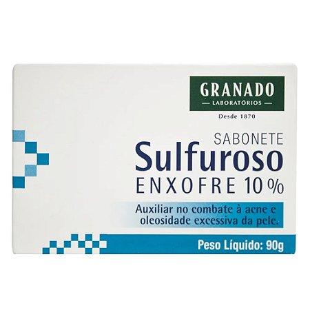 SABONETE GRANADO SULFUROSO 90G