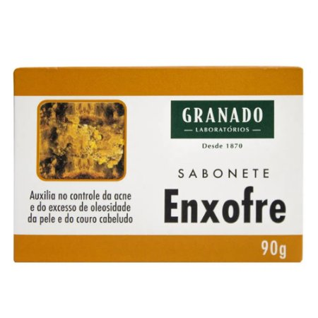 SABONETE GRANADO TRATAMENTO ENXOFRE 90GR