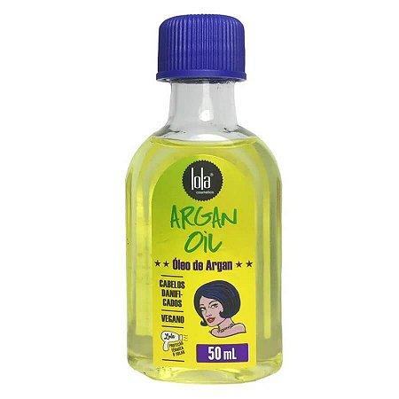 Lola Cosmetics Argan Oil - Óleo Capilar - 50ml