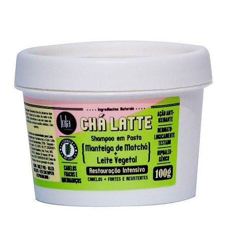 Lola Cosmetics Chá Latte Chá Verde Shampoo em pasta Fortalecedor - 100g