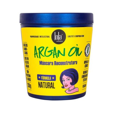 Lola Cosmetics Argan Oil - Máscara de Reconstrução - 230g