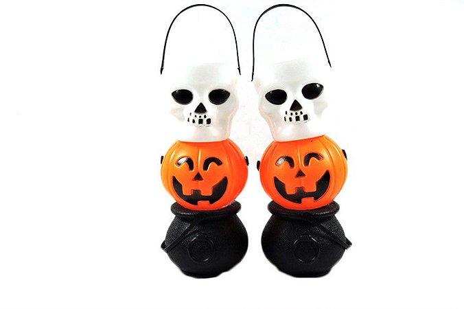 Mini Baldes Halloween 6 Pçs