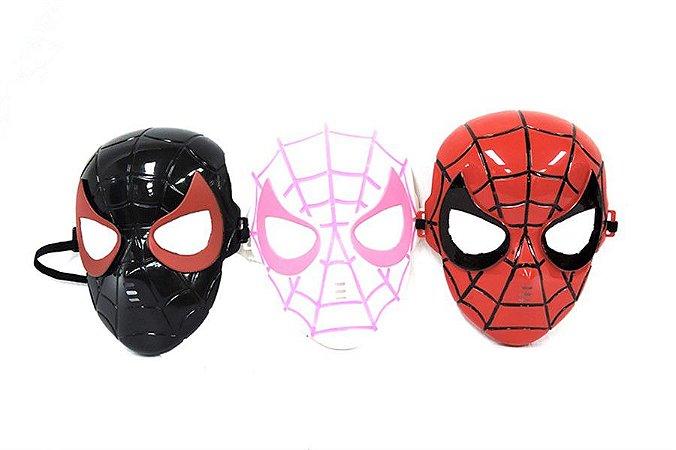 Kit 3 Máscaras Homem Aranha Vingadores Avengers