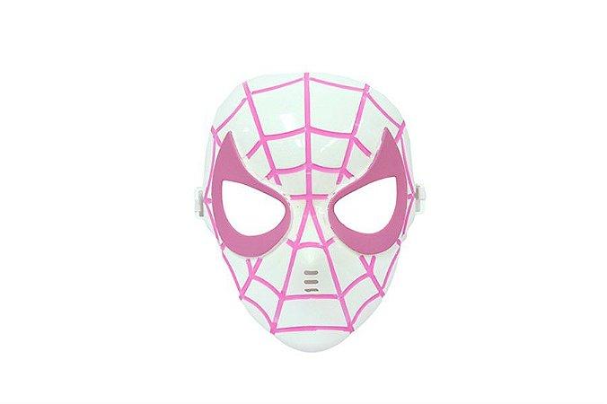Mascara Homem Aranha Rosa Vingadores Avengers