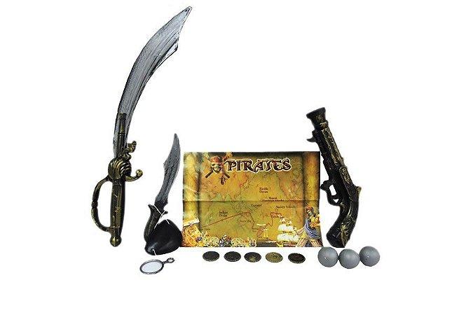 Kit para Pirata com Mapa
