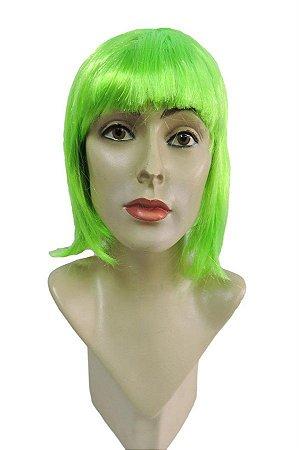 Peruca Chanel Carnaval Verde