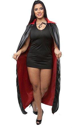 Capa Bruxa ou Vampiro Longa