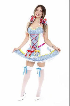 Vestido Festa Junina Adulto Luxo
