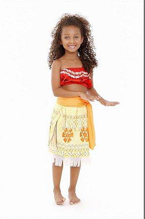Fantasia Moana Infantil