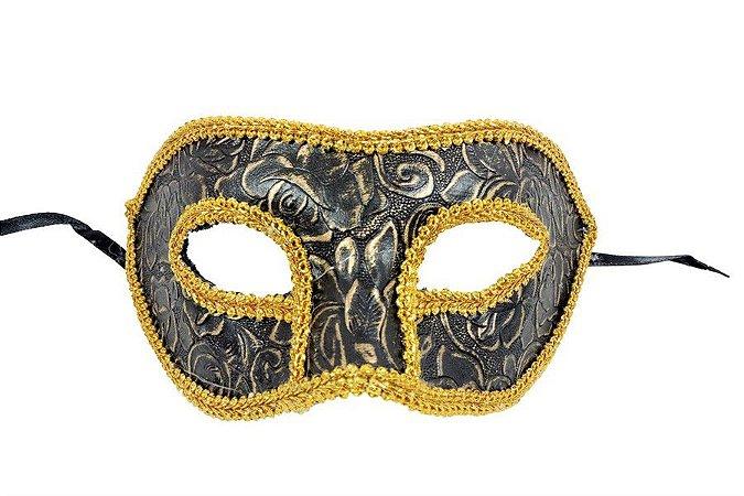 Mascara Carnaval Medieval Bronze