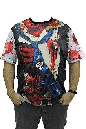 Camiseta Zumbi Halloween Adulto