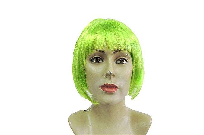 Peruca Chanel Mecha Verde