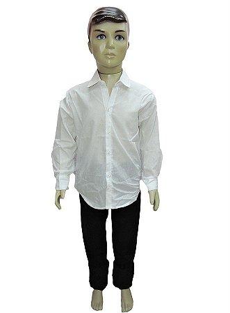Camisa Junina Infantil Branca