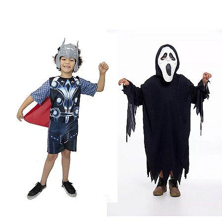 Fantasia Thor Vingadores Infantil E Panico Halloween