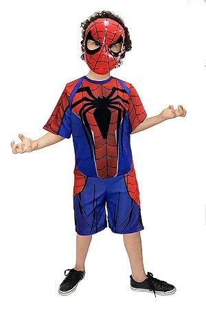 Fantasia Homem Aranha,spiderman, Avengers,infantil